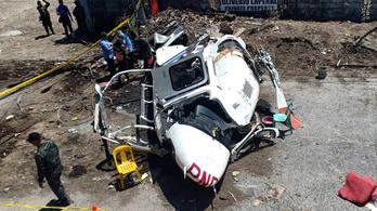 Lezuhant egy helikopter a Fülöp-szigeteken