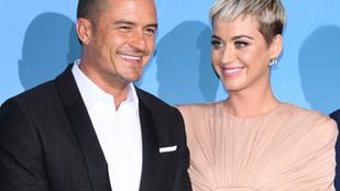 Katy Perry új klipjével jelentette be, hogy várandós
