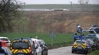 Kisiklott egy vonat Franciaországban, többen megsérültek