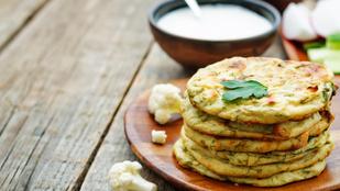 Tortillalapok karfiolból: gluténmentes, diétás királyság