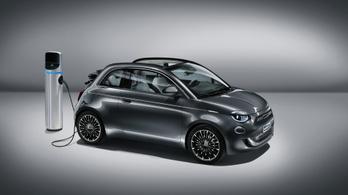 Megfizethetetlen villanyautóvá változik a Fiat 500-as