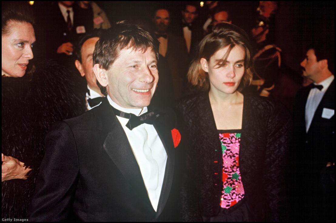Roman Polanski és Emmanuelle Seigner 1986-ban