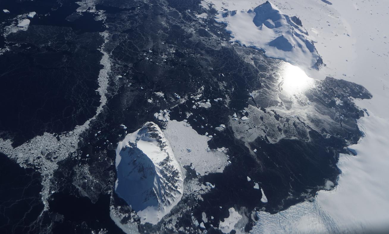 antarktisz új sziget nyitó