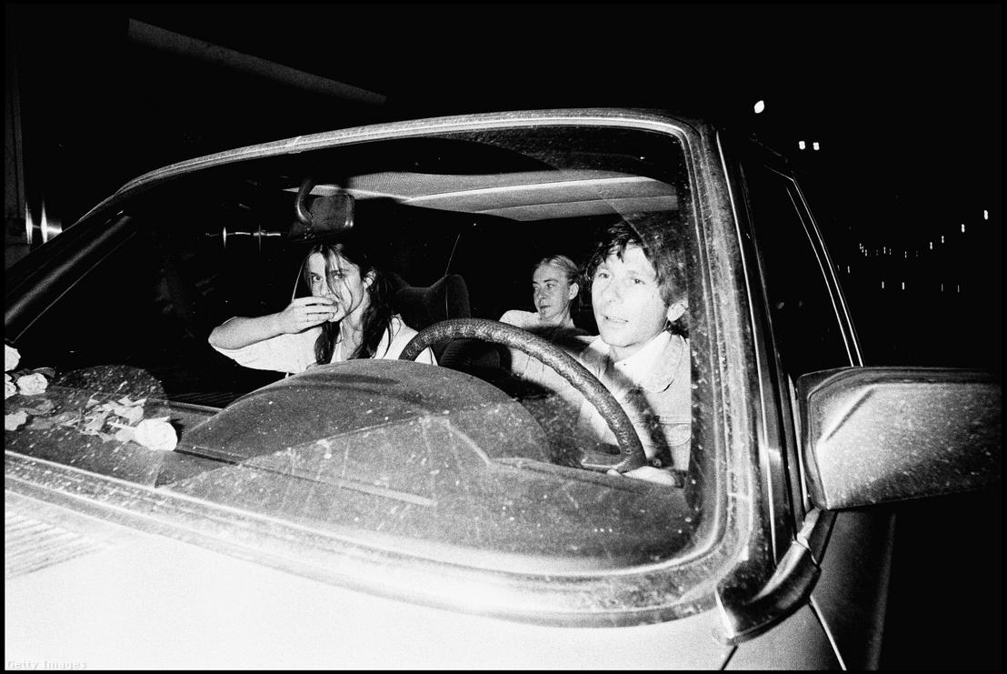 Roman Polanski és Nastassja Kinski egy kocsiban 1978-ban