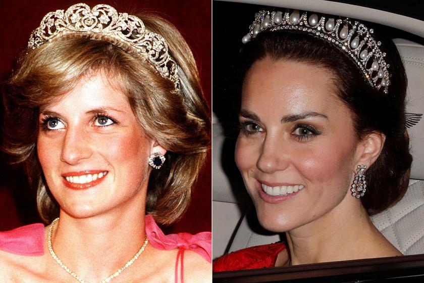 Katalin kiköpött Diana volt ebben a pink ruhájában - Ennyire hasonlít a stílusuk