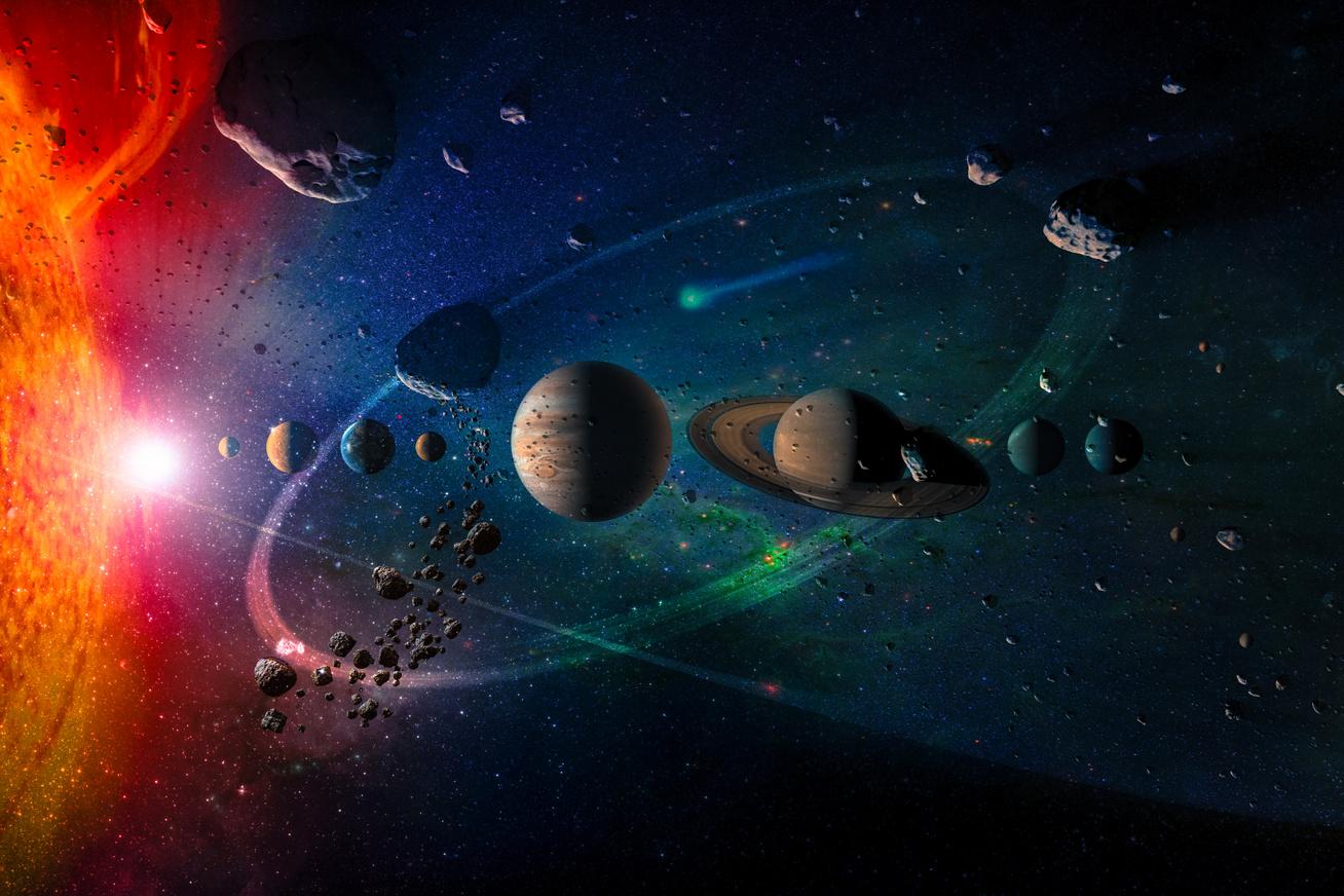 aszteroida tart a Föld felé