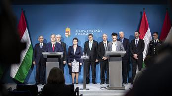 Koronavírus: Orbán Viktor és az operatív törzs sajtótájékoztatója