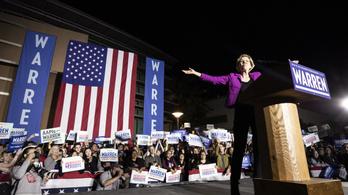 Warren is kiszáll az elnökjelöltségért folyó küzdelemből