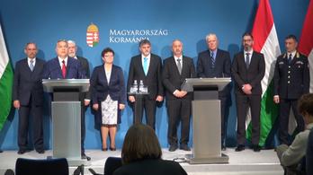 Koronavírus: Orbán Viktor, Kásler Miklós és az operatív törzs sajtótájékoztatója