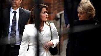 Igaza volt a szökött dubaji hercegnőnek a brit bíróság szerint