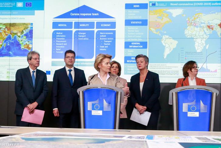 Az Európai Bizottság bejelentette, hogy a koronavírus európai terjedése miatt bevezetett közepes riasztási szintet magas szintre emelik.
