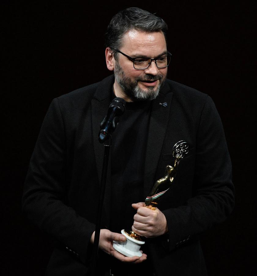 A legjobb televíziós sorozat díját elnyert Alvilág rendezője, Ujj Mészáros Károly