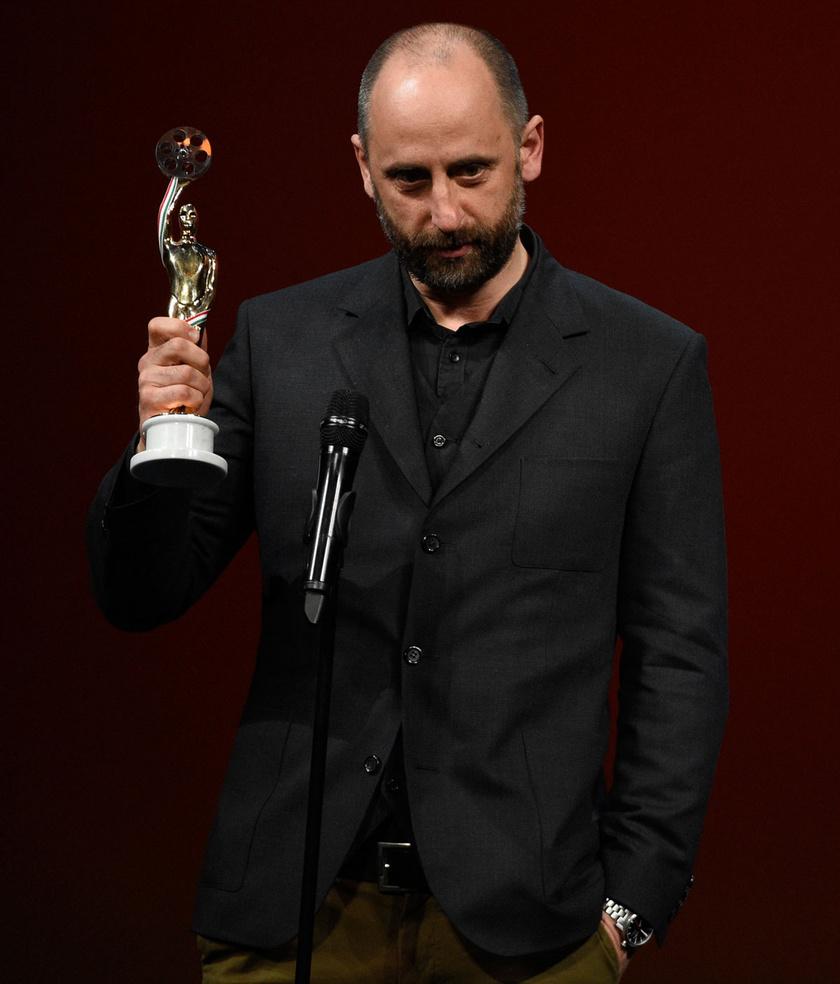 A legjobb játékfilmes fényképezésnek járó díjjal kitüntetett Garas Dániel (Valan)