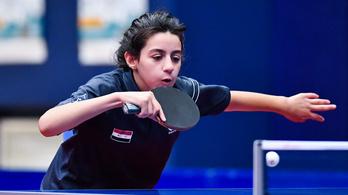 11 évesen jutott ki az olimpiára a szíriai Hend Zaza