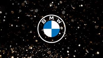Itt az új BMW jelvény, autókra nem kerül
