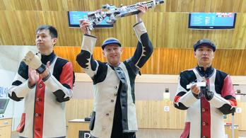 A 6. olimpiájára készülő Sidi Péter még két olimpiát vett célba