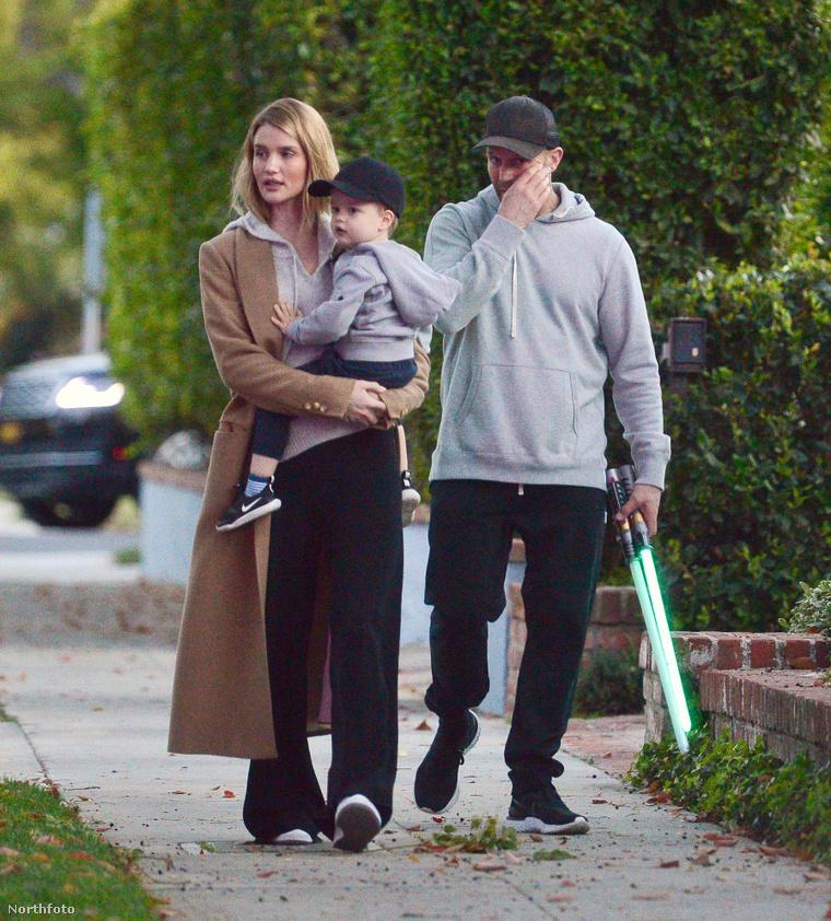 Jason Statham és családja Los Angelesben