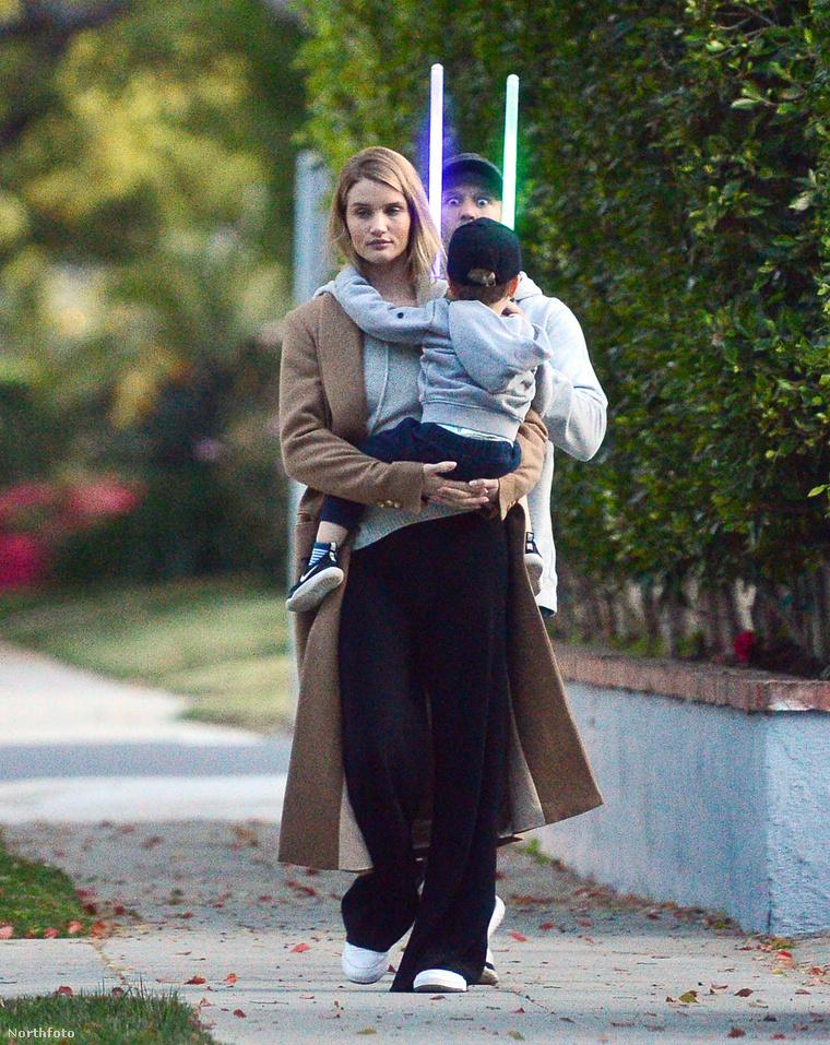 Jason Statham és családja szintén Los Angelesben