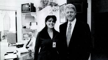 Bill Clinton csak a szorongásait oldotta Monica Lewinskyvel
