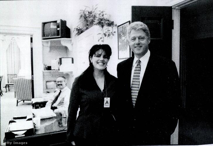 Monica Lewinsky és Bill Clinton (1998)