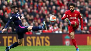 Kijött a gödörből a Liverpool, 25 ponttal vezeti a bajnokságot