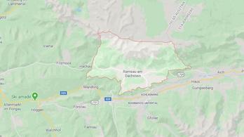 Öt ember halálát okozta lavina Ausztriában