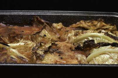 Puhára sült káposzta paradicsomszószban - Szénhidrátszegény ebéd vagy vacsora