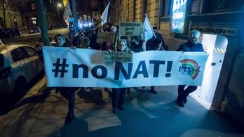 Lefújták a NAT-elleni tüntetést is a koronavírus miatt