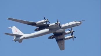 Orosz bombázókat fordítottak vissza brit vadászgépek