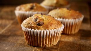 Egy gyors süti, ami reggelire is beválik: banános-joghurtos muffin magvakkal