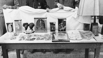 Emberbőrbe kötött náci fotóalbumot találtak egy lengyel piacon