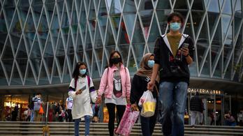 Házi készítésű bombákat koboztak el és 17 embert letartóztattak Hongkongban