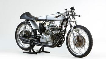 Ducati 125 köbcentis, soros négyhengeres blokkal