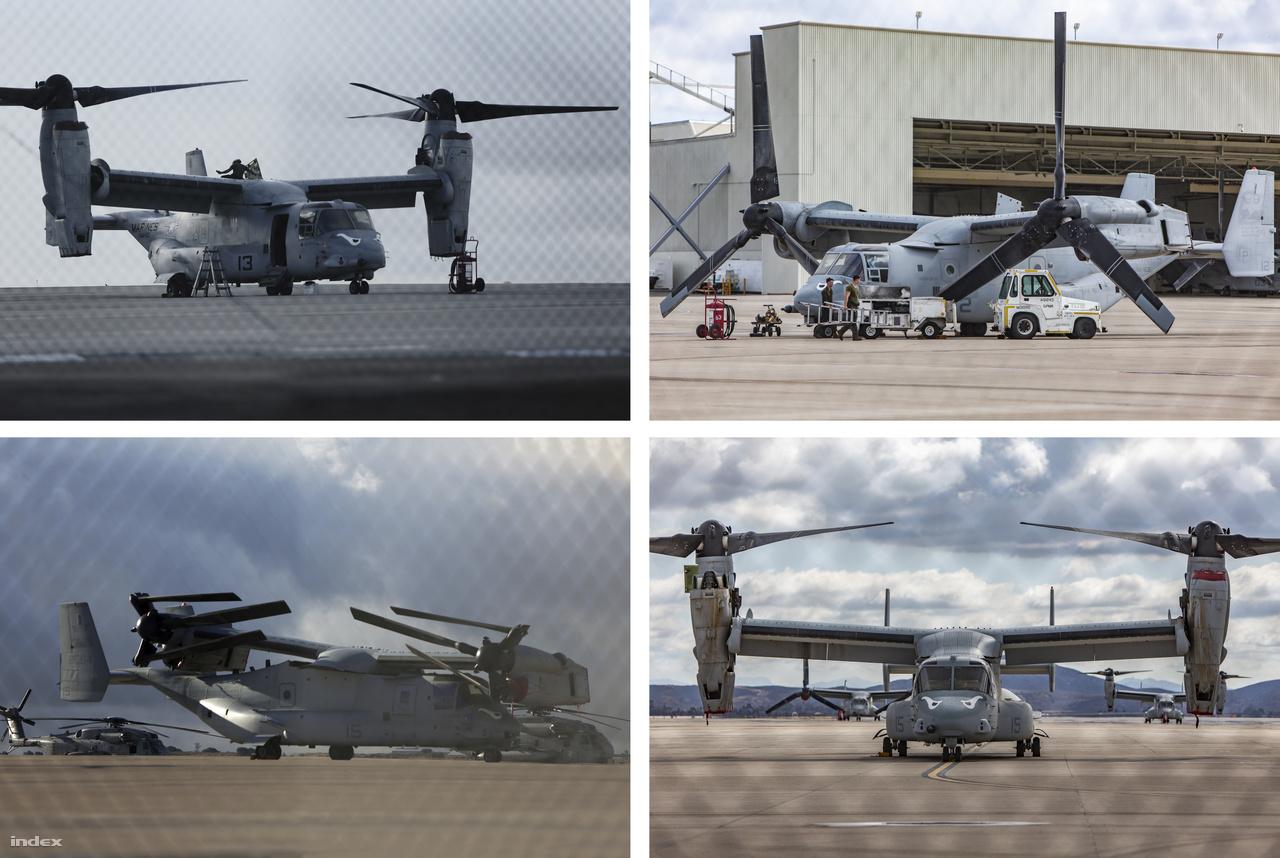 A Marine Corps Air Station Miramar (MCAS Miramar) a tengerészgyalogság 3. légiezredének otthona (3rd Marine Aircraft Wing), az alakulatnak többek között tucatnyi Osprey gépe is van.