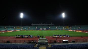 Elmarad a bolgár-magyar labdarúgó Eb-pótselejtező
