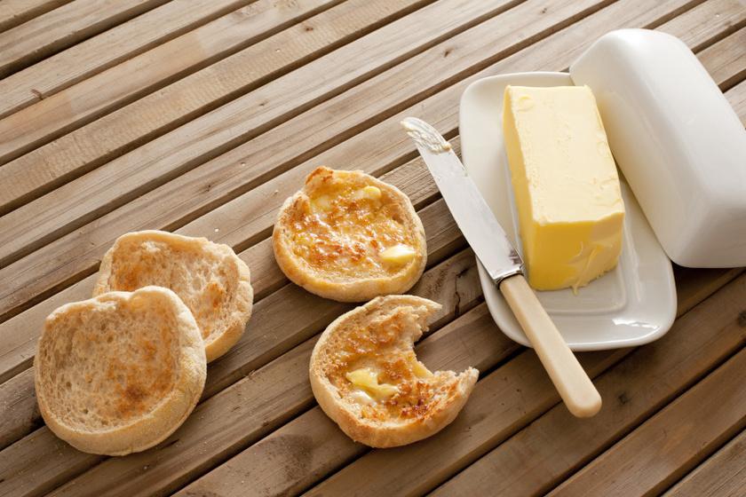 angol muffin recept