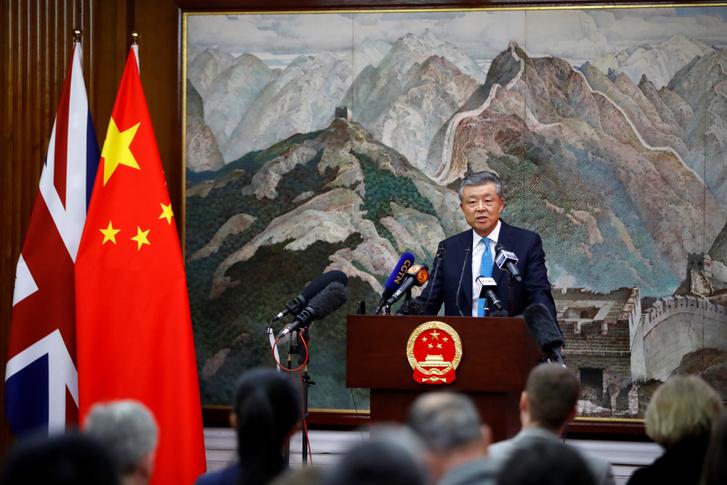 Liu Xiaoming, Kína londoni nagykövete