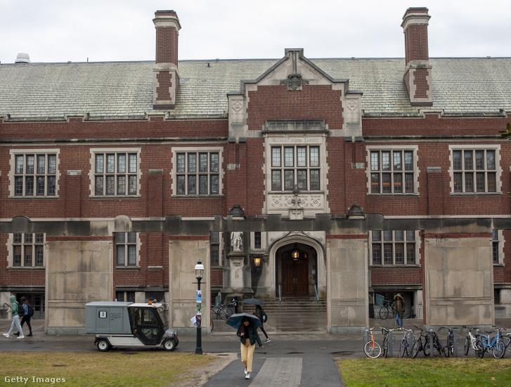 A Princeton Egyetem campusa