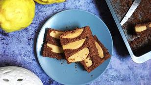 Birsalmás-csokis kukoricasüti: gluténmentes, cukormentes, tejmentes finomság