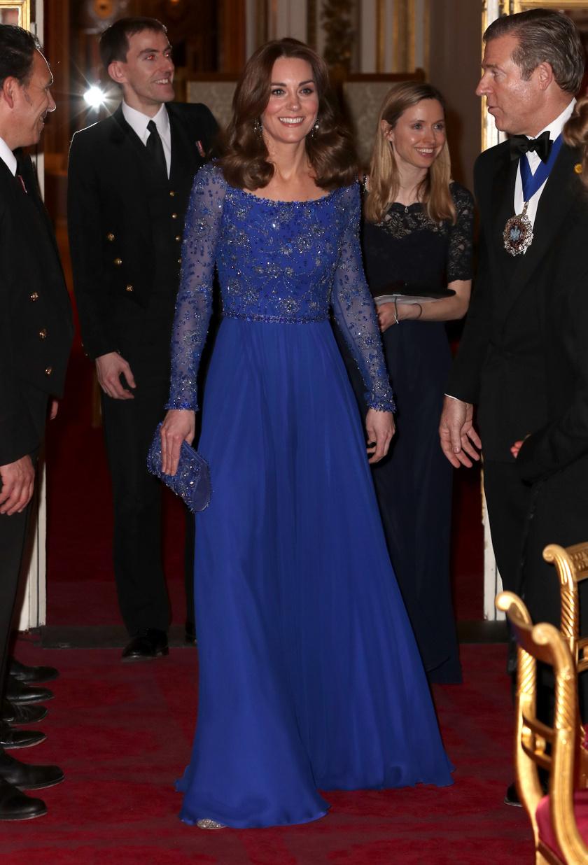Katalin hercegné irtó elegáns volt a tegnap esti jótékonysági gálán.