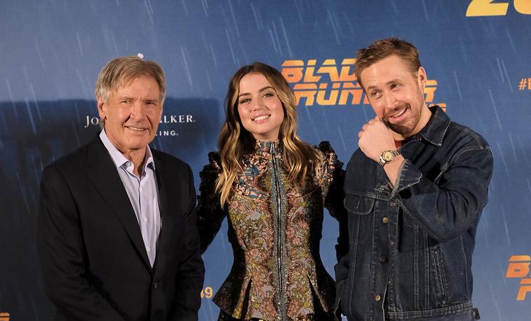 A Szárnyas fejvadász 2049 forgatása alatt jól kijött Harrison Forddal és Ryan Goslinggal is.