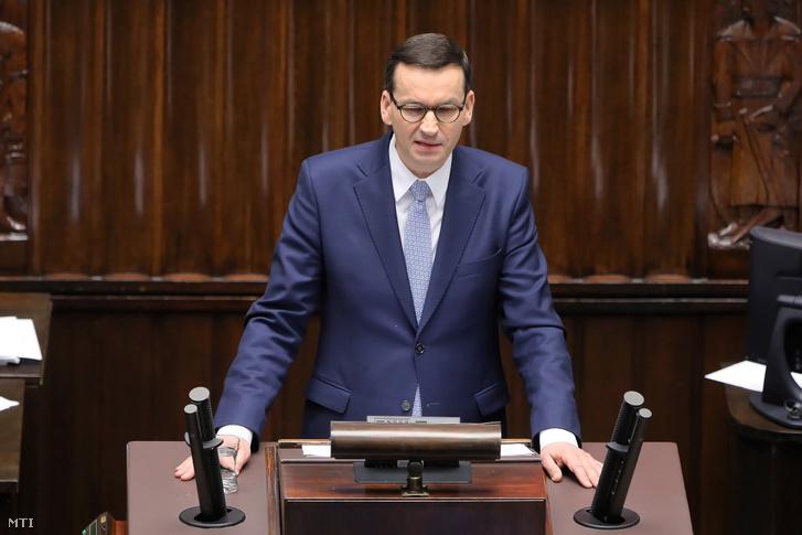 Mateusz Morawiecki kormányfő