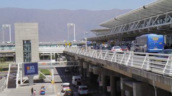 15 millió dollárt rabolt egy chilei banda a repülőtérről