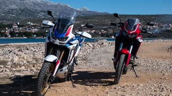 Teszt: Honda CRF1100L és CRF1100L Adventure Sports - 2020.