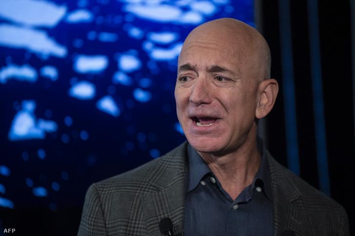 Jeff Bezos az amazon.com alapítója
