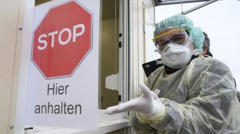A német járványügyi intézet szerint az ország 60-70%-át megfertőzheti a vírus