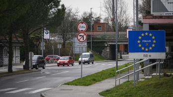 Ausztria után Szlovénia is lezárja az olasz határt