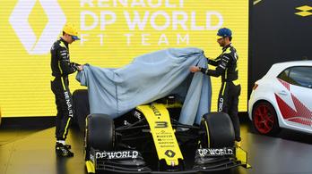 F1: a Renault is bemutatta végleges fényezését
