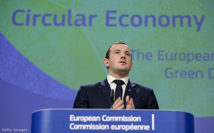 Virginijus Sinkevičius uniós biztos bejelenti a circular economy action plant