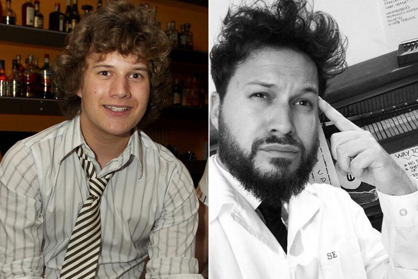 2007-ben még teljesen máshogy nézett ki, mint napjainkban. Göndör haja eltűnt, viszont jókora szakállat növesztett.